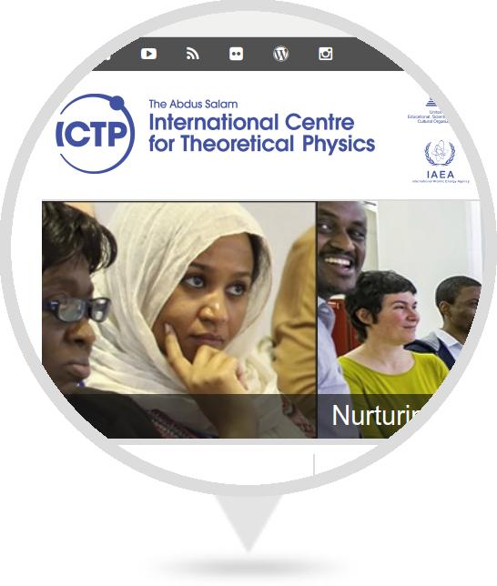 Sitio Web del ICTP