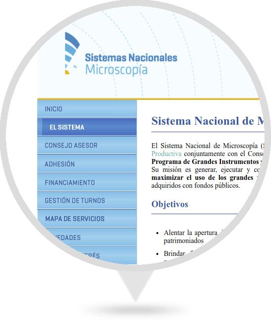 Sitio Web del SNM